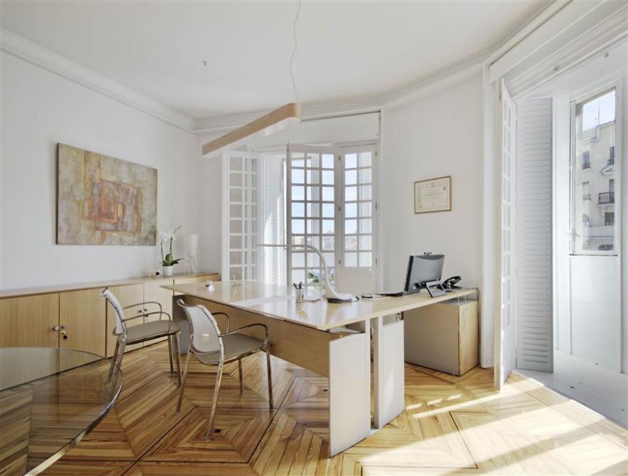 Moderno Despacho Diseño De Interiores Festooning - Ideas de ...